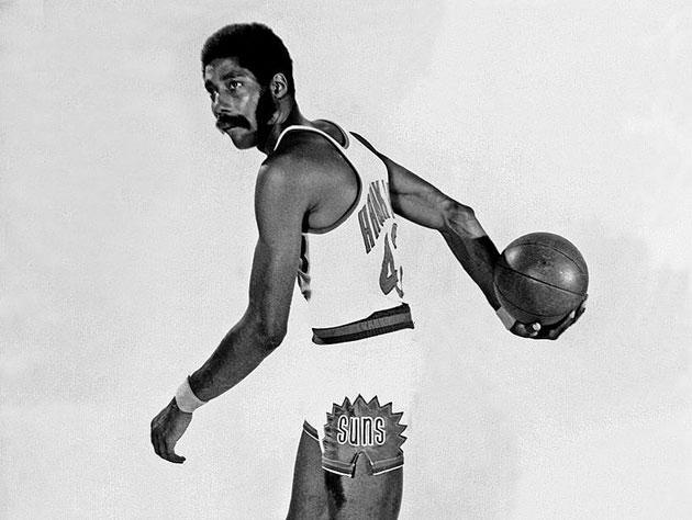 Connie Hawkins wraps it up. (Getty Images)