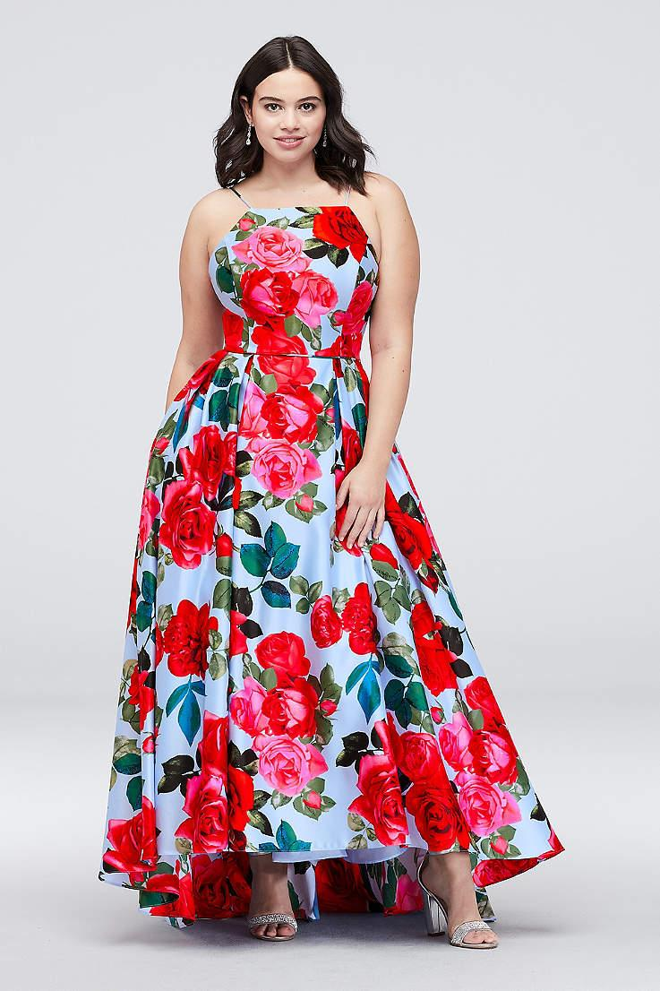 Stylish plus-size prom dresses for every budget