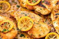 """<p>Your oven is about to take chicken from meh to MIND-BLOWING. Don't believe us? Scroll through these 50+ amaaazing chicken recipes. You'll be planning dinner in no time. Looking for even more chicken ideas? Try these <a href=""""https://www.delish.com/cooking/g2933/satisfying-chicken-recipes/"""" rel=""""nofollow noopener"""" target=""""_blank"""" data-ylk=""""slk:game-changing chicken recipes"""" class=""""link rapid-noclick-resp"""">game-changing chicken recipes</a>, too.</p>"""