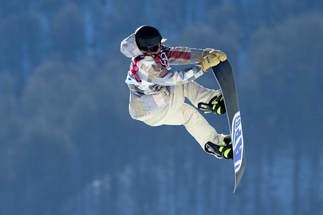 SOCHI, RUSSIA - FEBRUARY 08: Sage Kotsenburg of the United States competes during the Snowboard Men's Slopestyle Semifinals during day 1 of the Sochi 2014 Winter Olympics at Rosa Khutor Extreme Park on February 8, 2014 in Sochi, Russia. (Photo by Cameron Spencer/Getty Images)