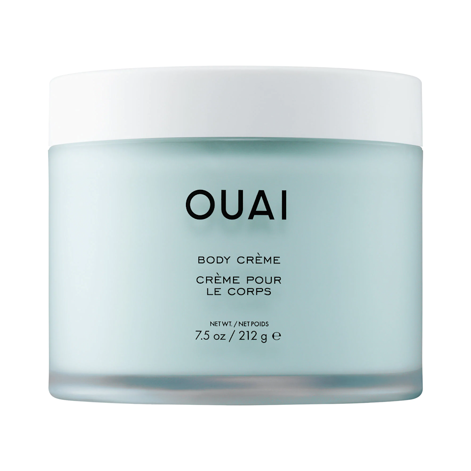 "<p>Jen Atkin recently expanded her hugely popular hair-care line <a href=""https://www.allure.com/story/ouai-body-cleanser-and-creme-jet-atkin-interview?mbid=synd_yahoo_rss"">into body care</a>, and while she may be a hair expert, it seems she's pretty savvy in the skin-care department, too. It moisturizes like a thick cream, but with a whipped texture that lets your skin quickly absorb the hydrating and softening benefits of cupuaçu butter, coconut oil, and qualane. As an extra boon, you're left lightly scent with notes of citrus, spices, rose, violet, and white musk.</p> <p><strong>$38</strong> (<a href=""https://www.sephora.com/product/body-creme-P449774"" rel=""nofollow"">Shop Now</a>)</p>"
