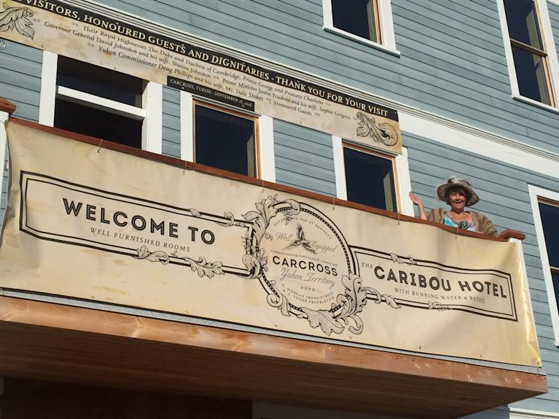 The historic Caribou Hotel in Carcross, Yukon is reopening after more than a decade. (Supplied/Anne Morgan)
