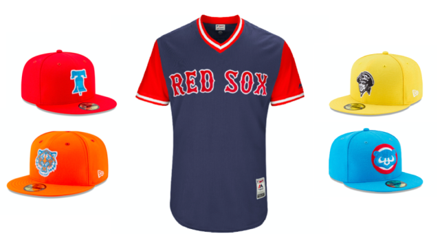 MLB has announced new jerseys, caps and socks for Players Weekend. (MLB)