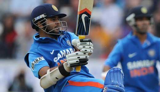 Parthiv Patel pulls one away on the way to his highest ODI score.