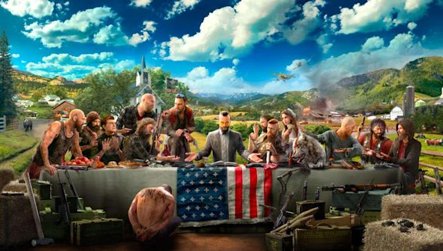 'Far Cry 5' is a chaotic blast through the American West.