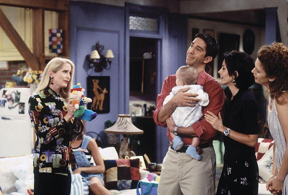<p><strong>In Friends: </strong></p><p>Sibbett played Ross' ex-wife Carol and the mother of his son, Ben, who left Ross for Susan who she later marries in the first season.</p>