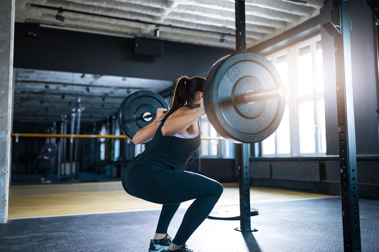 """<p>Measuring your body composition - how much of you is made up of water, muscle, and fat - is the best way to assess whether you're gaining fat and/or muscle, Gabbi said. Body composition can be measured most easily with a <a href=""""http://www.ncbi.nlm.nih.gov/pmc/articles/PMC4118362/"""" target=""""_blank"""" class=""""ga-track"""" data-ga-category=""""Related"""" data-ga-label=""""http://www.ncbi.nlm.nih.gov/pmc/articles/PMC4118362/"""" data-ga-action=""""In-Line Links"""">Bioelectrical Impedance Analysis</a> (BIA), """"where harmless electrical currents through your body are used."""" You even get a BIA scale that you step on or hold in your hands, but Gabbi said to make sure you use it on an empty stomach and when you are hydrated """"since being dehydrated can erroneously send up your body fat percentage reading."""" Rondel noted that many gyms do a body composition test of some sort before people start programs in order to get baseline values and therefore set realistic goals.</p> <p>Other tests include <a href=""""https://www.popsugar.com/fitness/What-Good-Body-Fat-Percentage-44817068"""" class=""""ga-track"""" data-ga-category=""""Related"""" data-ga-label=""""http://www.popsugar.com/fitness/What-Good-Body-Fat-Percentage-44817068"""" data-ga-action=""""In-Line Links"""">skinfold calipers</a>, or """"pinch tests,"""" and they can be used to measure gains or losses in body fat. A DEXA scan - <a href=""""http://www.ncbi.nlm.nih.gov/pmc/articles/PMC6042744/"""" target=""""_blank"""" class=""""ga-track"""" data-ga-category=""""Related"""" data-ga-label=""""http://www.ncbi.nlm.nih.gov/pmc/articles/PMC6042744/"""" data-ga-action=""""In-Line Links"""">dual-energy X-ray absorptiometry</a> - which is <a href=""""https://www.popsugar.com/fitness/Why-You-Should-Know-Your-Body-Fat-Percentage-45969529"""" class=""""ga-track"""" data-ga-category=""""Related"""" data-ga-label=""""http://www.popsugar.com/fitness/Why-You-Should-Know-Your-Body-Fat-Percentage-45969529"""" data-ga-action=""""In-Line Links"""">a radiological scan</a> used to measure bone density, is the most accurate way to measure your body composition, bu"""