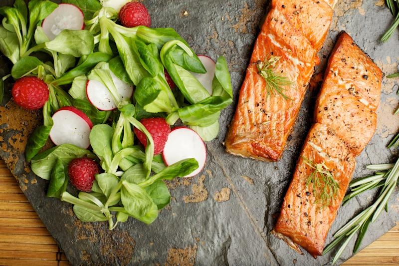 Oily fish contains a high proportion of omega-3. (Getty Images)