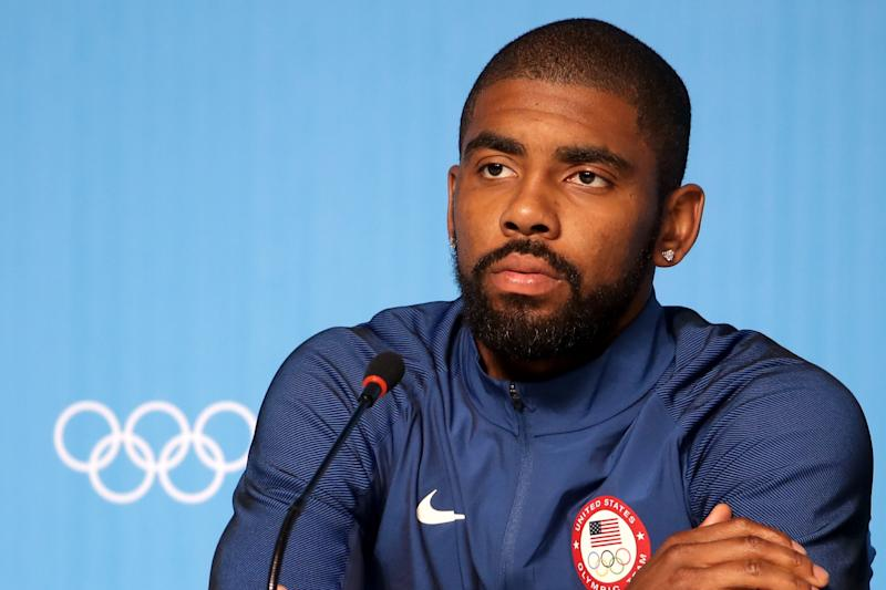 Kyrie Irving thinks Team USA should expect to dominate. (Getty Images)