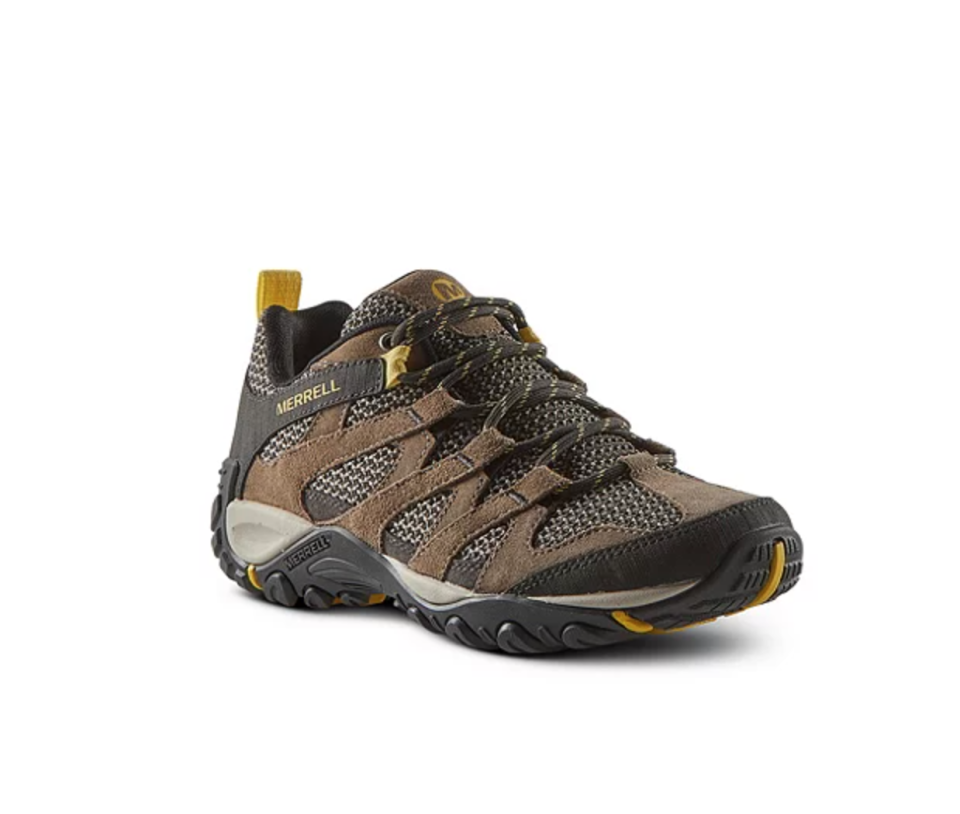 Merrell 'Alverstone Vent' Hiking Shoes in Taupe (Photo via Mark's)