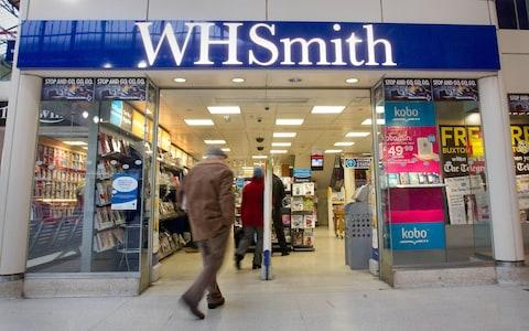 WH SMith - Credit: Philip Toscano/PA