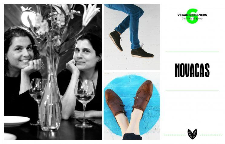 Novacas founders Erica and Sara Kubersky; Desmond Chukka Boot; Jessie Oxford