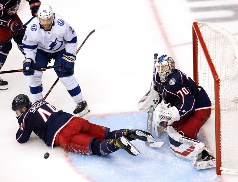 Lightning beat Blue Jackets 2-1 to take 3-1 series lead