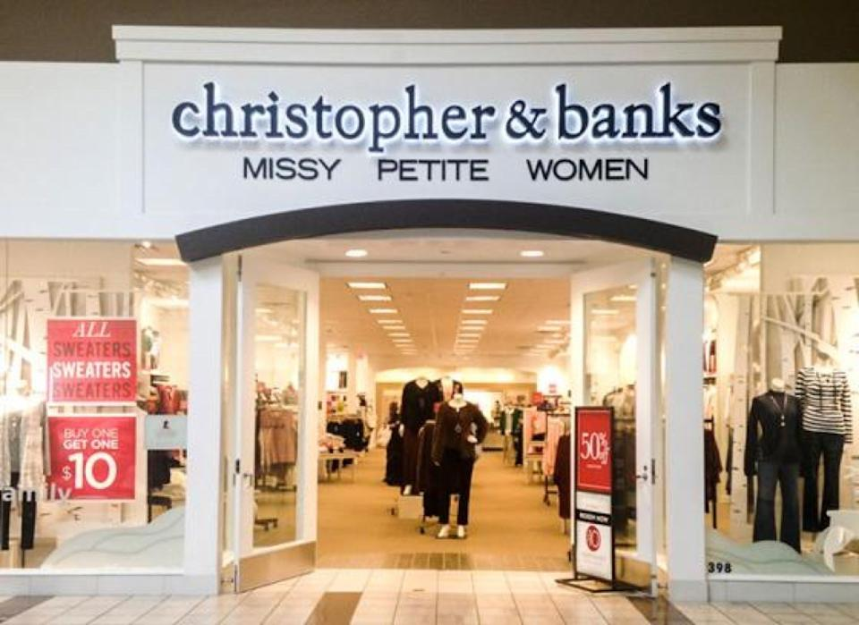 Christopher & Banks storefront