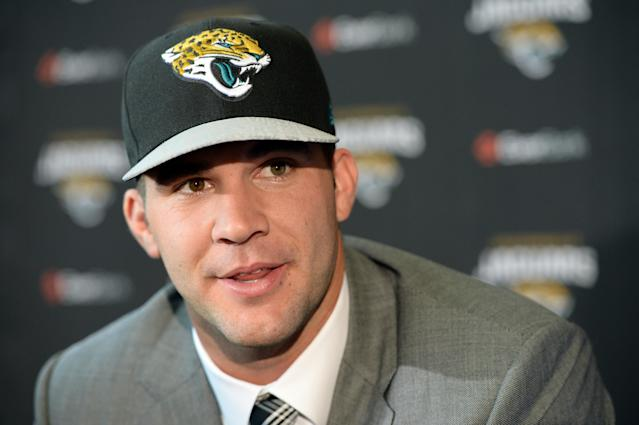Draft party in Blake Bortles' hometown goes nuts when Bortles is picked by Jacksonville (Video)