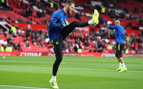 De Gea - Credit: Getty Images