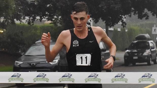 Justin Kent qualifies for half marathon worlds, narrowly missing B.C. course record
