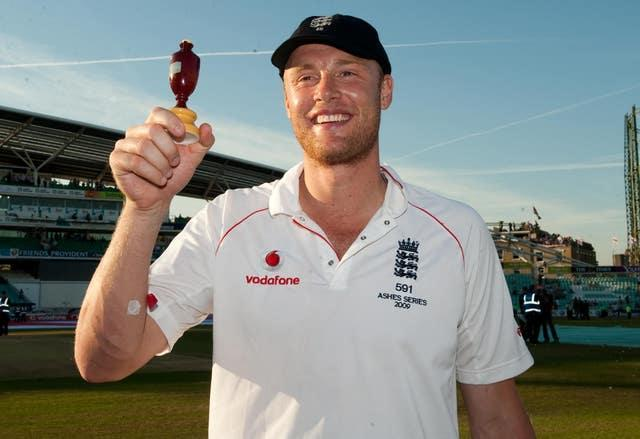 Flintoff had already retired from Test cricket following England's victory in the 2009 Ashes series (Gareth Copley/PA).
