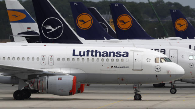 Lufthansa was forced to ground nearly all of its fleet for the past couple of months. (Matthias Schrader/AP)