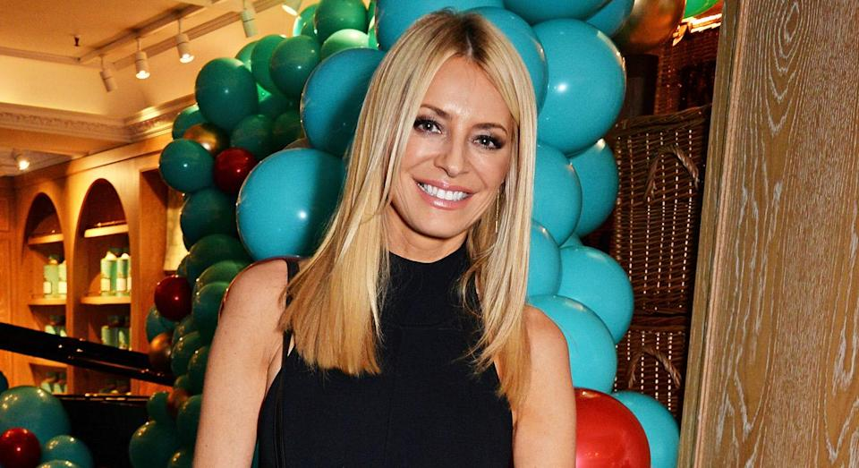 Tess Daly says she is happy to be getting older. [Photo: Getty]