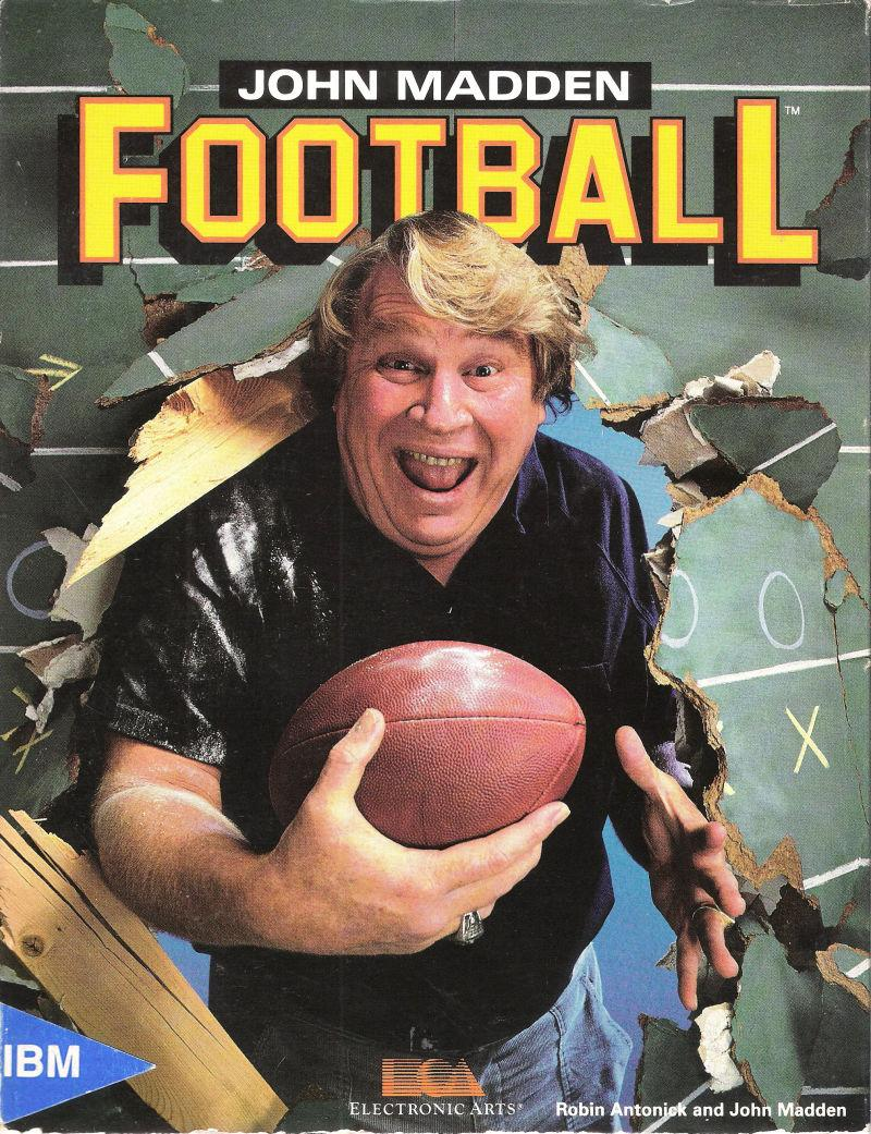 John Madden Football from 1988 (via EA Sports)