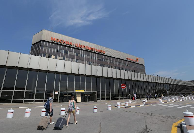 A view of Moscow's Sheremetyevo airport outside Moscow, Russia, on Tuesday, July 2, 2013. Leaker Edward Snowden has been caught in legal limbo in the transit zone of Moscow's Sheremetyevo airport since his arrival from Hong Kong on June 23. U.S. President Obama said Monday during his trip to Africa that every intelligence service in Europe, Asia and elsewhere does its best to understand the world better, and that goes beyond what they read in newspapers or watch on TV. It was an attempt to blunt European reaction to new revelations from National Security Agency leaker Edward Snowden that the U.S. spies on European governments.(AP Photo/Sergei Grits)