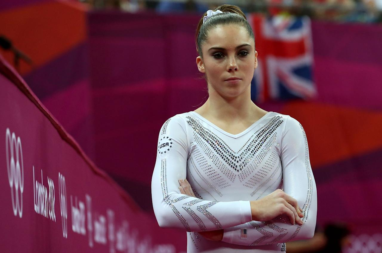 "<p>McKayla Maroney took home the silver medal on vault in London and even commented to Inside Gymnastics, ""I guess I'm going to the next Olympics."" (Getty) </p>"