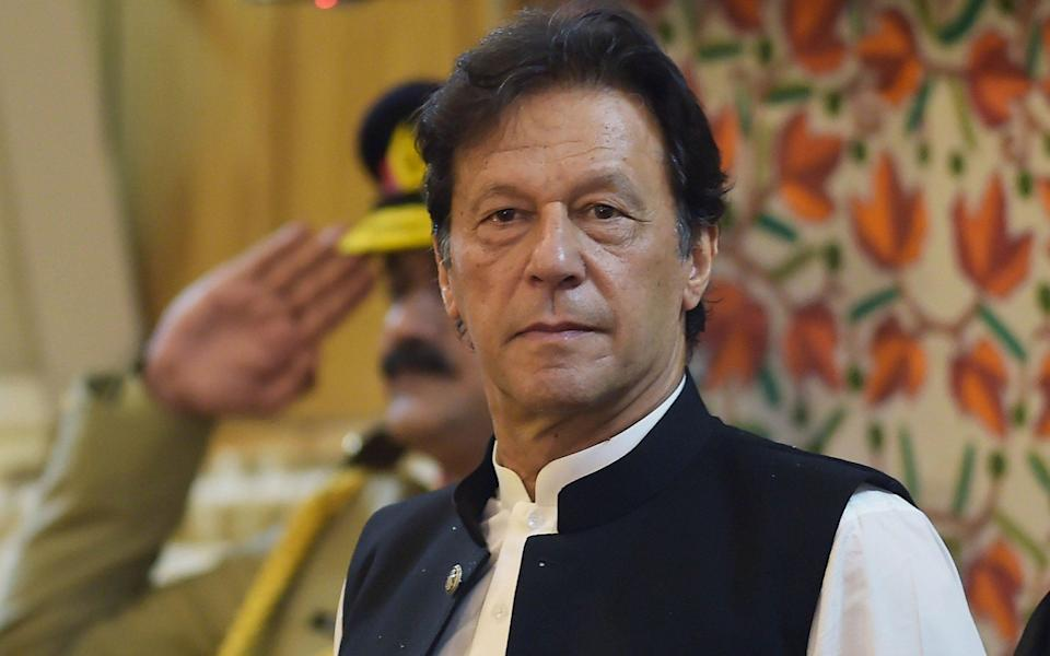 Imran Khan said Pakistan should have remained neutral - AFP