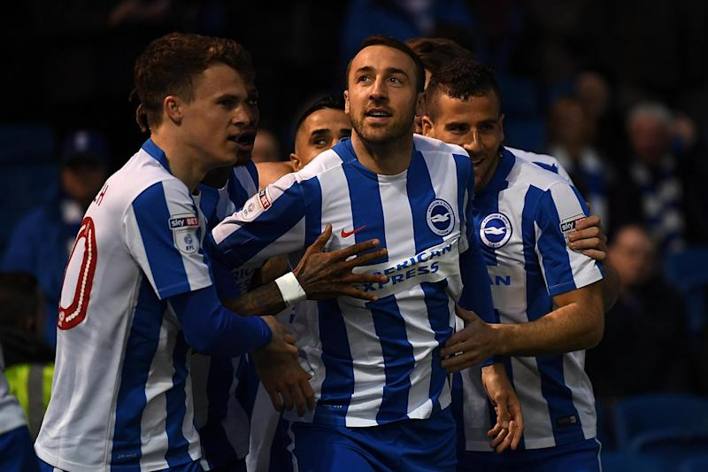Flying high: The Seagulls have won promotion to the top flight: Getty Images