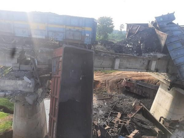 A visual from the site of incident.