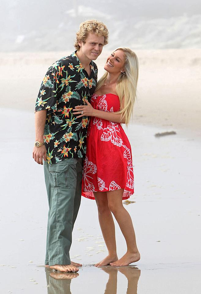 "Former ""Hills"" couple Spencer Pratt and Heidi Montag celebrated getting back together recently with -- shocker -- a photo shoot on the beaches of Malibu, California. James Breeden/<a href=""http://www.pacificcoastnews.com/"" target=""new"">PacificCoastNews.com</a> - September 22, 2010"