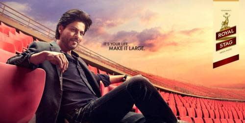 King Khan, who should ideally been selective about the products he endorses considering his iconic following amongst all age groups, has been associated with brands such as Frooti, Pepsi and Royal Stag. With Pepsi, Khan did popular campaigns such as 'Oye Bubbly' and 'Yeh Dil Maange More,' while he endorsed Royal Stag's music CD's in what is called surrogate advertising. In 2010, Pepsi dropped Khan in favour of a younger Ranbir Kapoor. In 2014, Khan had signed a Rs 20 crore deal to promote Pan Vilas, said to be the highest endorsement deal for a single brand at the point of time. The actor has also been associated with Frooti since 2013, having done multiple ad campaigns with them.