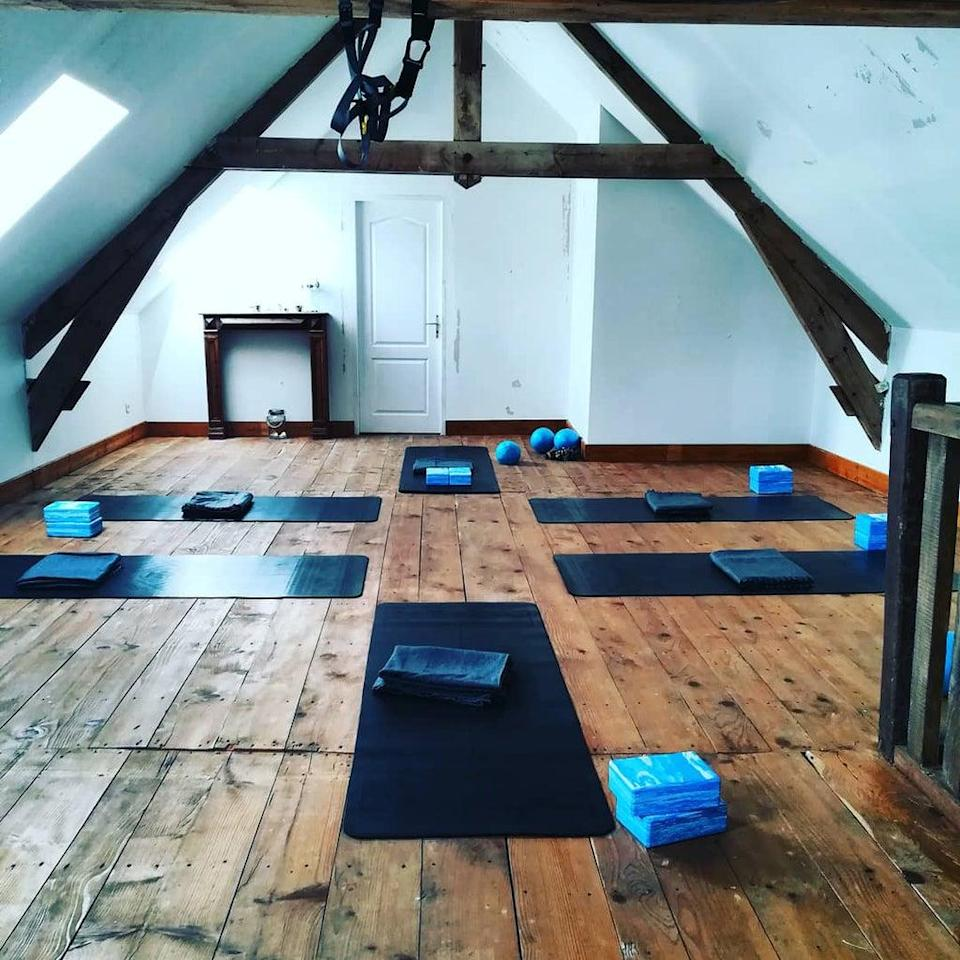 Retreats typically involve daily meditation and workout classes for both mums and dads (Lynn Murphy)