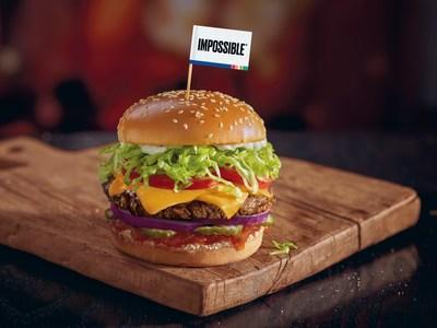 Red Robin Gourmet Burgers and Brews is the first largest restaurant chain to serve The Impossible™ Burger