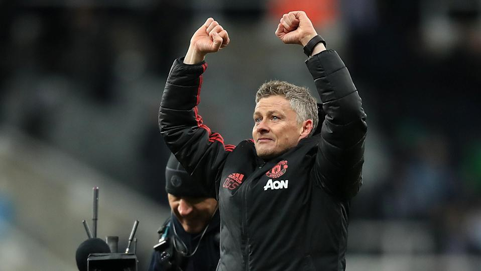 Caretaker manager has won his first five games at Manchester United.
