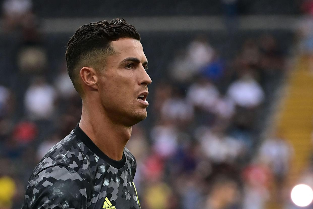 Cristiano Ronaldo is on his way out of Juventus. (Photo by MIGUEL MEDINA/AFP via Getty Images)