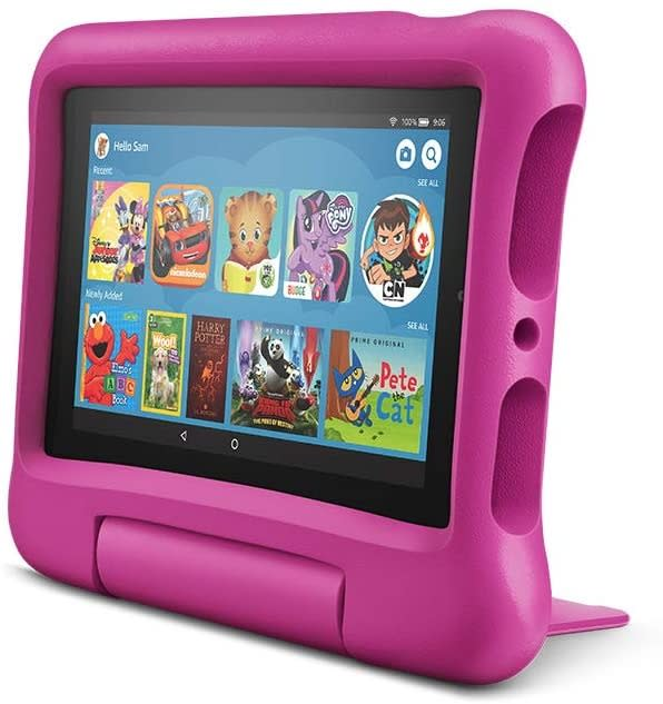 Fire 7 Kids Tablet, best tablets for toddlers