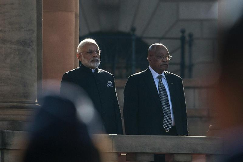 India's Modi on African tour to drum up business