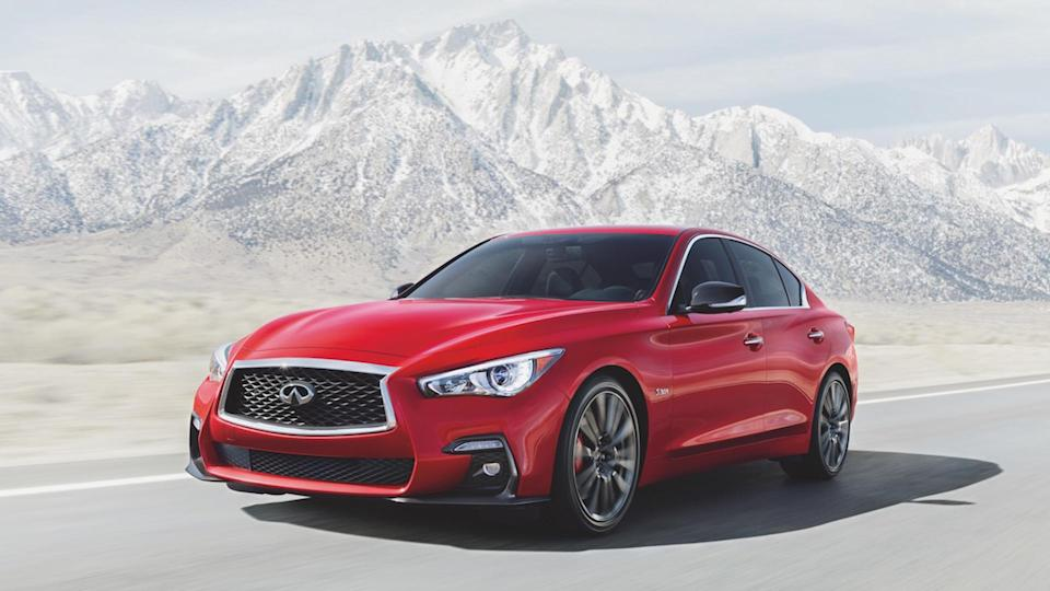 The 2019 INFINITI Q50 sport sedan wins 2019 Vincentric Best Value in America award in the Luxury Mid-Size Sedan segment.