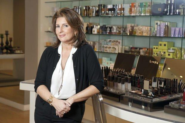 Space NK, founded by Nicky Kinnaird (pictured), could be sold to consumer goods giant Unilever: Tony Buckingham