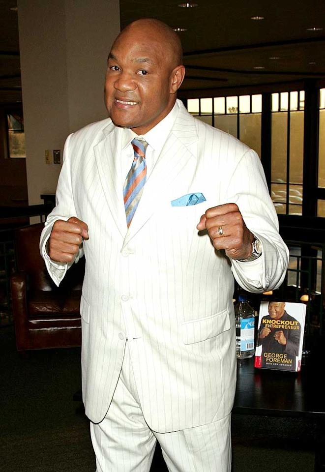 """January 10: George Foreman turns 62 Jim Spellman/<a href=""""http://www.wireimage.com"""" target=""""new"""">WireImage.com</a> - September 1, 2009"""