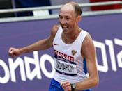 Five Russian Olympic race-walking champions have been banned by the Russian Anti-Doping Agency.