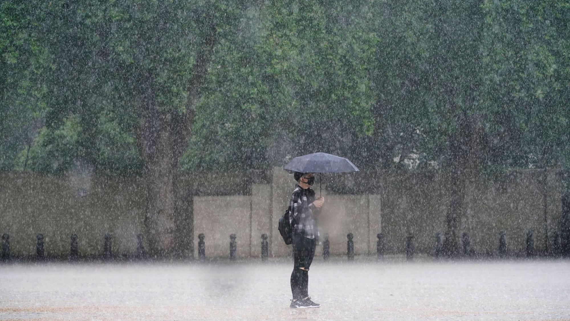 More storms on the way after almost a month's worth of rain falls in a day