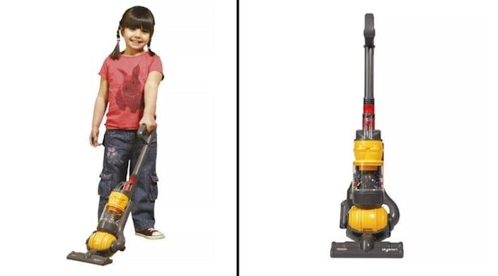 Spring cleaning, but make it fun with a toy vacuum that offers real suction.