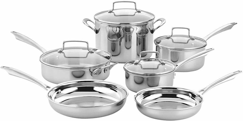Shop the best Prime Day cookware deals on cookware sets from Cuisinart, Calphalon, Farberware, Le Creuset and more.