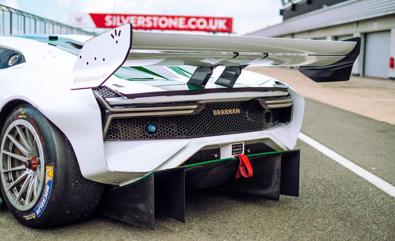 """<p>The 2020 Brabham BT62 is extreme in every way and is more a tamable race car than a hard-core hypercar. Read the full story <a href=""""https://www.caranddriver.com/reviews/a28100041/2020-brabham-bt62-drive/"""" target=""""_blank"""">here</a>.</p>"""