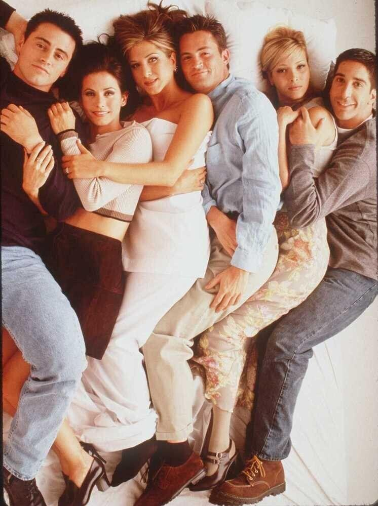 """The cast of """"Friends"""" (1996)"""