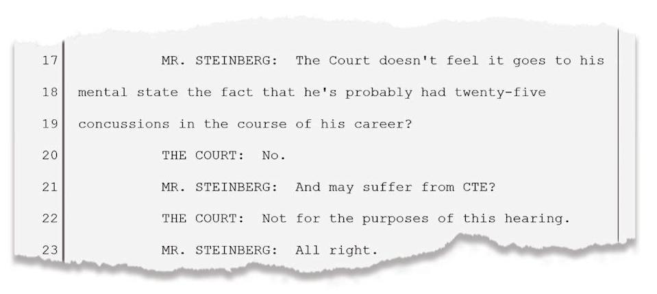 An exchange between Justin Bannan's attorney, Harvey Steinberg, and a Colorado judge at preliminary hearing on Dec. 31, 2019.