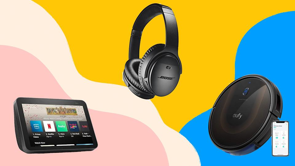 Shop major savings on tech ranging from smart home displays to noise-canceling headphones with today's Amazon deals.