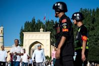 Already one of the most policed places on earth, Xinjiang saw security spending balloon last year